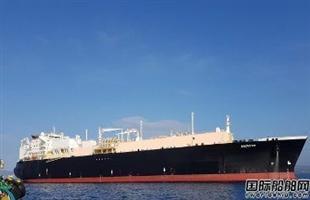 威尔森船舶管理接管一艘LNG船