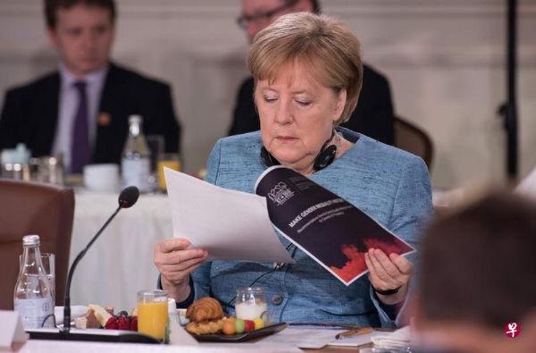默克尔:欧盟将反制美国钢铝关税