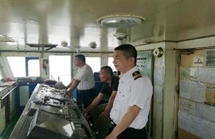 今年主汛期首艘外轮抵达武汉新港