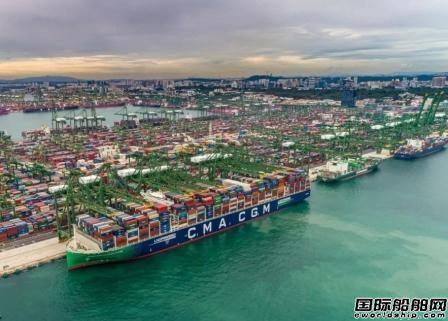 达飞看好美国市场将部署6艘LNG动力15000TEU集装箱船